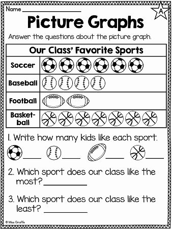 Graphing Worksheets for First Grade New First Grade Math Unit 16 Graphing and Data Analysis