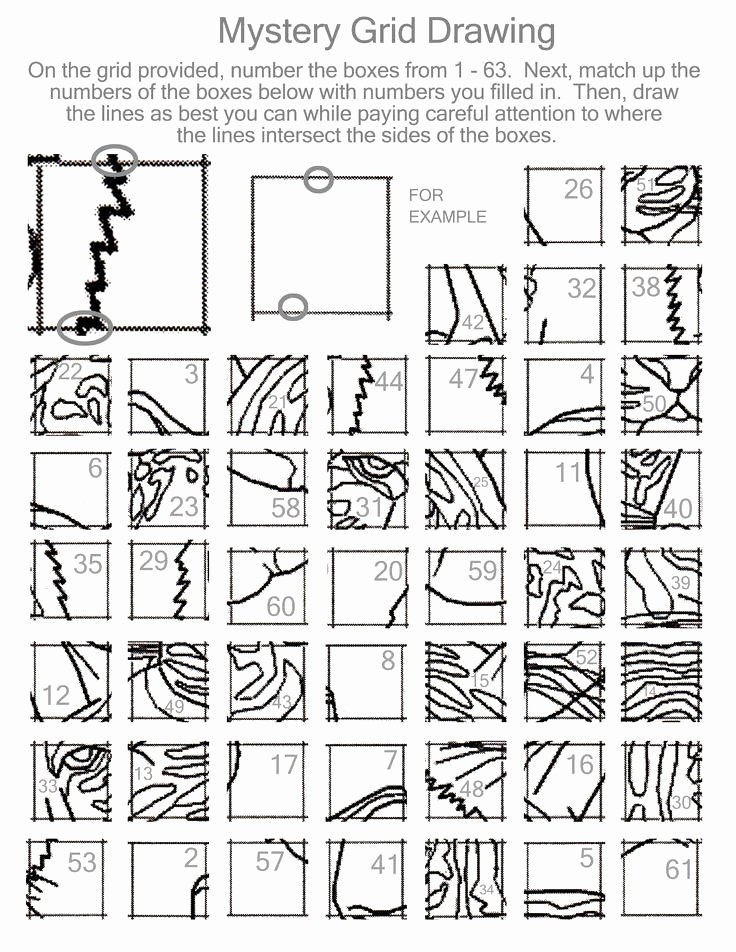 Grid Drawing Worksheets Middle School Inspirational Grid Drawing Worksheets Middle School Mystery Grid Drawing