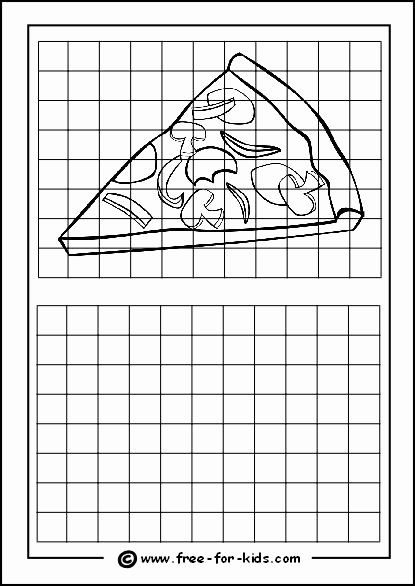 Grid Drawing Worksheets Middle School Lovely 90 Best Grid Copy Drawings Images