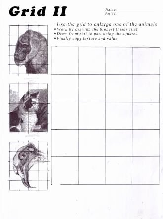 Grid Drawing Worksheets Middle School Printable Image Result for Art Worksheets