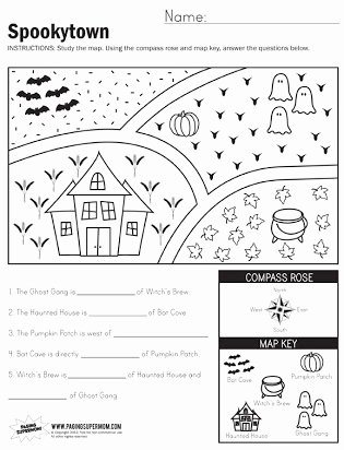 Grid Map Worksheets Grade 2 Fresh Free Map Skills Worksheets Second Grade