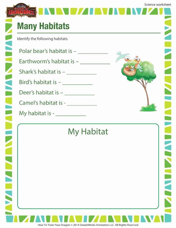 many habitats