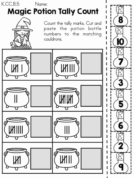 Halloween Math Worksheets Middle School Fresh Halloween Math Worksheets Kindergarten themed Times Table
