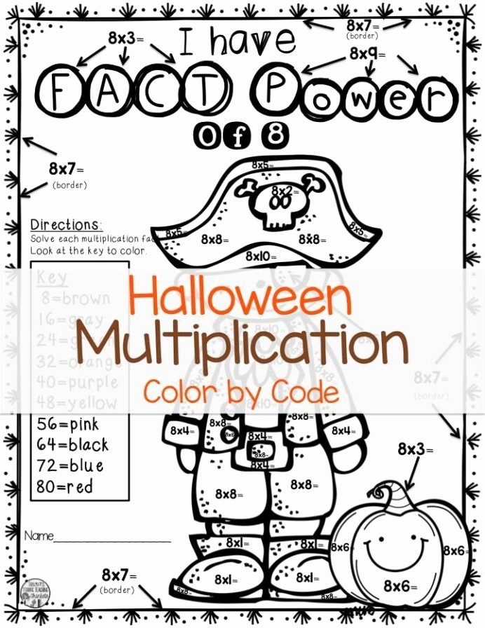 Halloween Math Worksheets Middle School Printable Halloween Math Worksheets for Grade 7 Worksheets