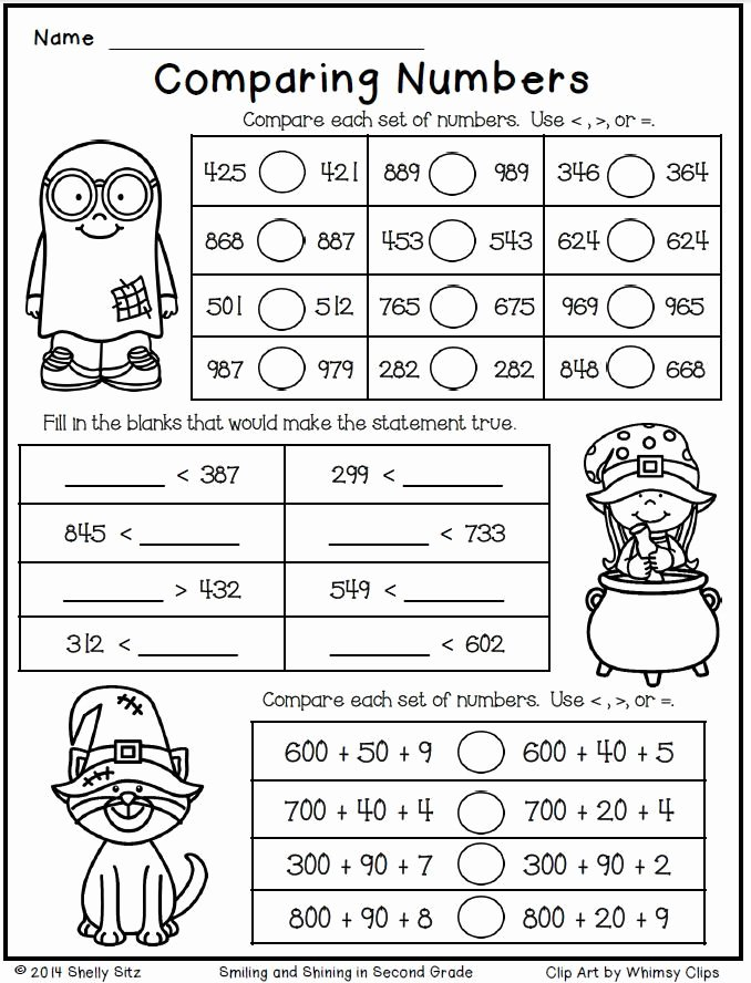 Halloween Worksheets for 2nd Grade New Free 2nd Grade Halloween Math Worksheets Worksheets Learn