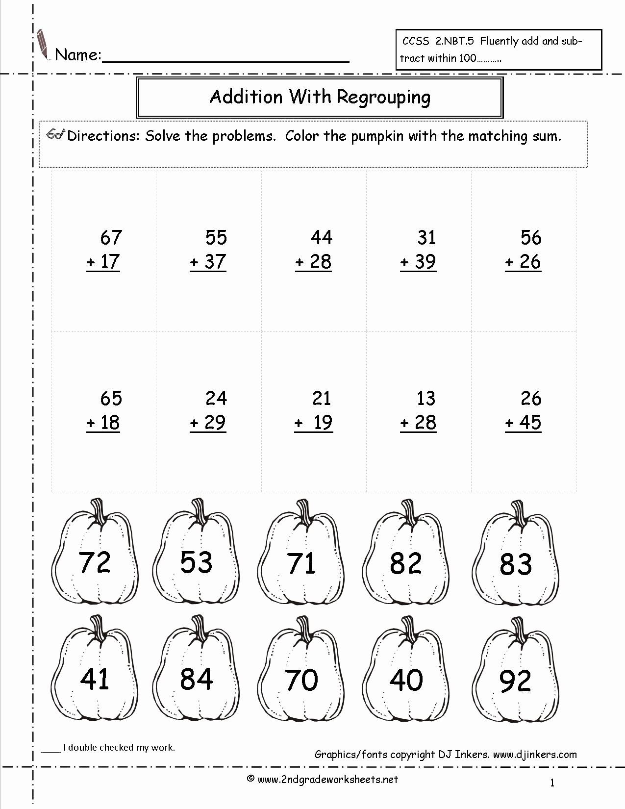 Halloween Worksheets for 2nd Grade Printable Division Questions Year 3 English Basic Vocabulary