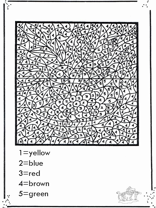 Hard Color by Number Worksheets Fresh Pin On Clearview