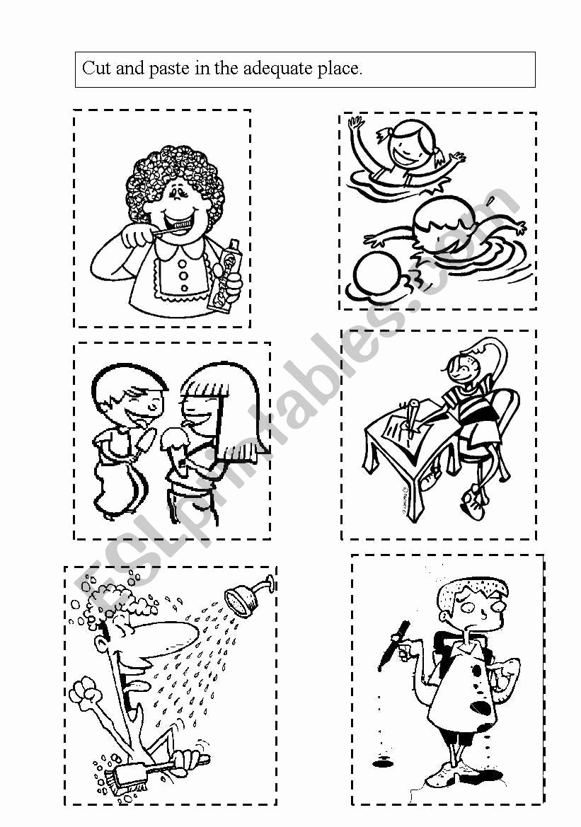 Healthy Habits for Kids Worksheets Ideas Healthy Habits Esl Worksheet by Mariakris