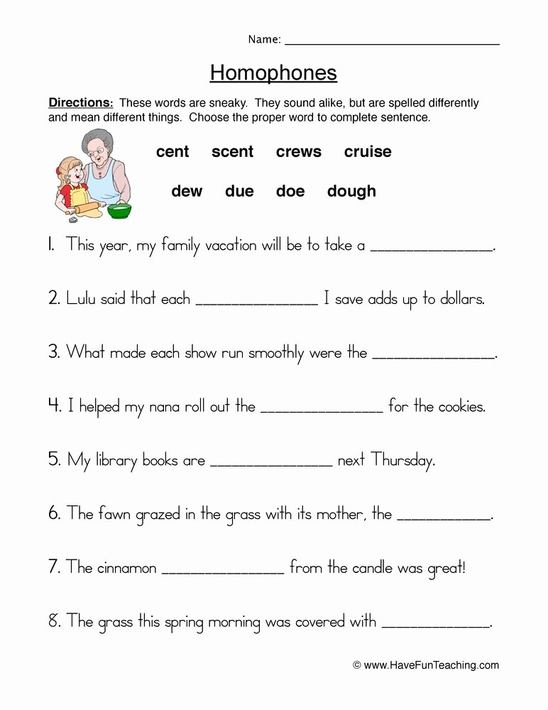Homophones Worksheets for Grade 5 Printable Homophones & Homonyms Lessons Tes Teach