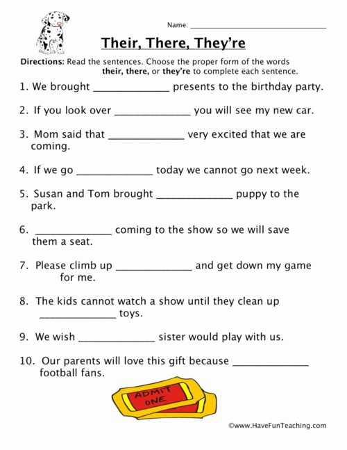Homophones Worksheets for Grade 5 Printable Homophones Worksheets Have Fun Teaching Free 3rd Grade