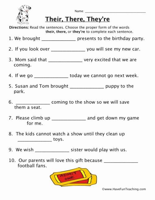 Homophones Worksheets for Grade 5 Printable Homophones Worksheets Have Fun Teaching Free 3rd Grade