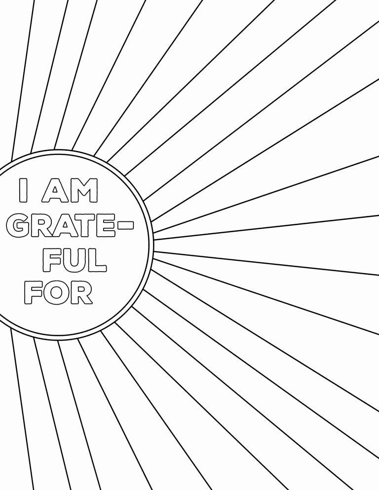 I Am Thankful for Worksheet Kids I Am Thankful for Worksheet Free Printable
