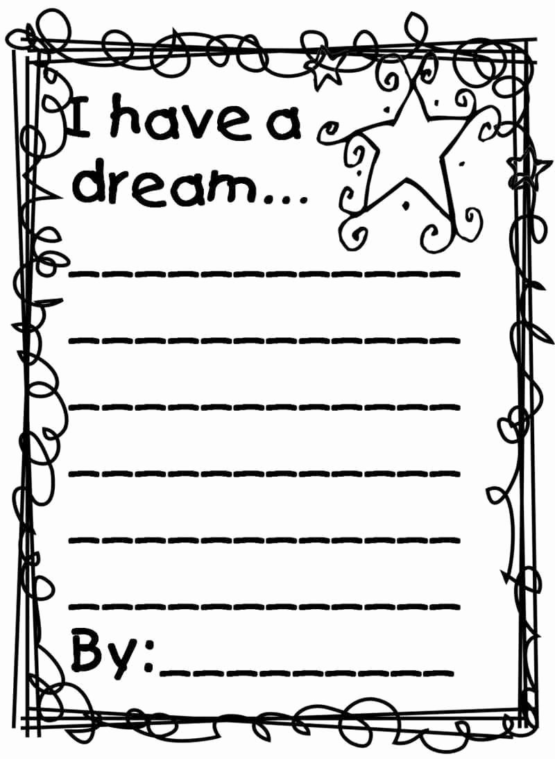 I Have A Dream Worksheet Best Of Martin Luther King I Have A Dream Worksheet