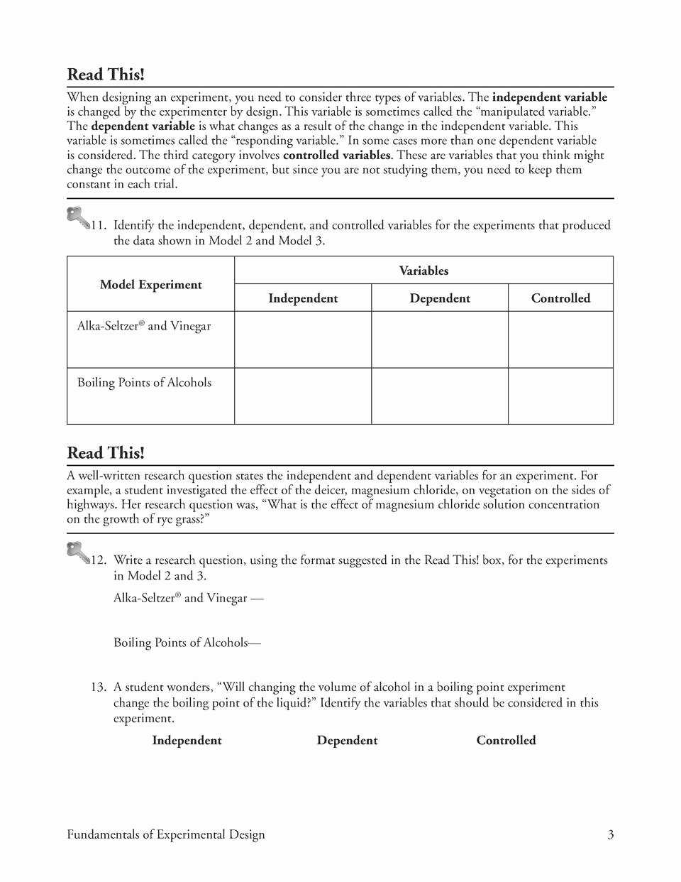 Identifying Variables Worksheet Middle School top Independent and Dependent Variables Worksheet Middle School
