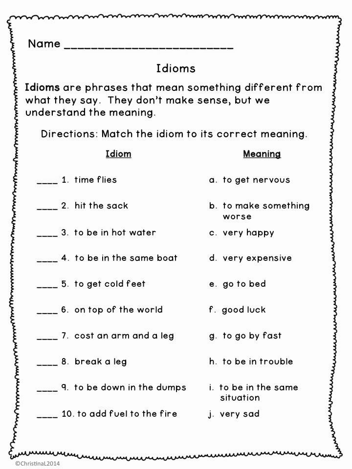 Idiom Worksheets for 2nd Grade Fresh Slide04 720—960 Pixels