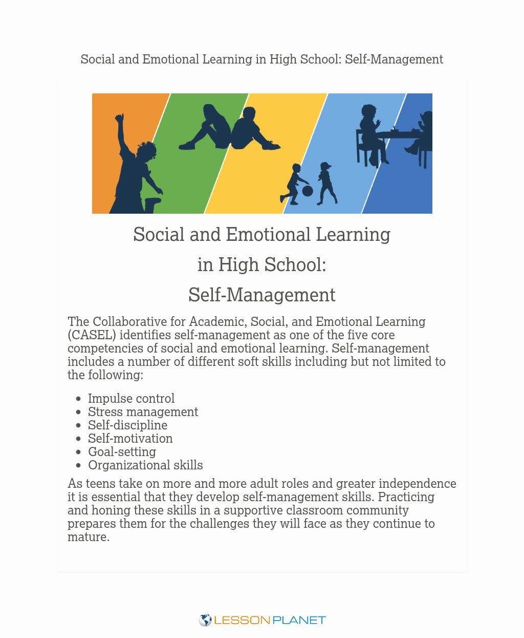 Impulse Control Worksheets for Teens Lovely Impulse Control Lesson Plans & Worksheets Reviewed by Teachers