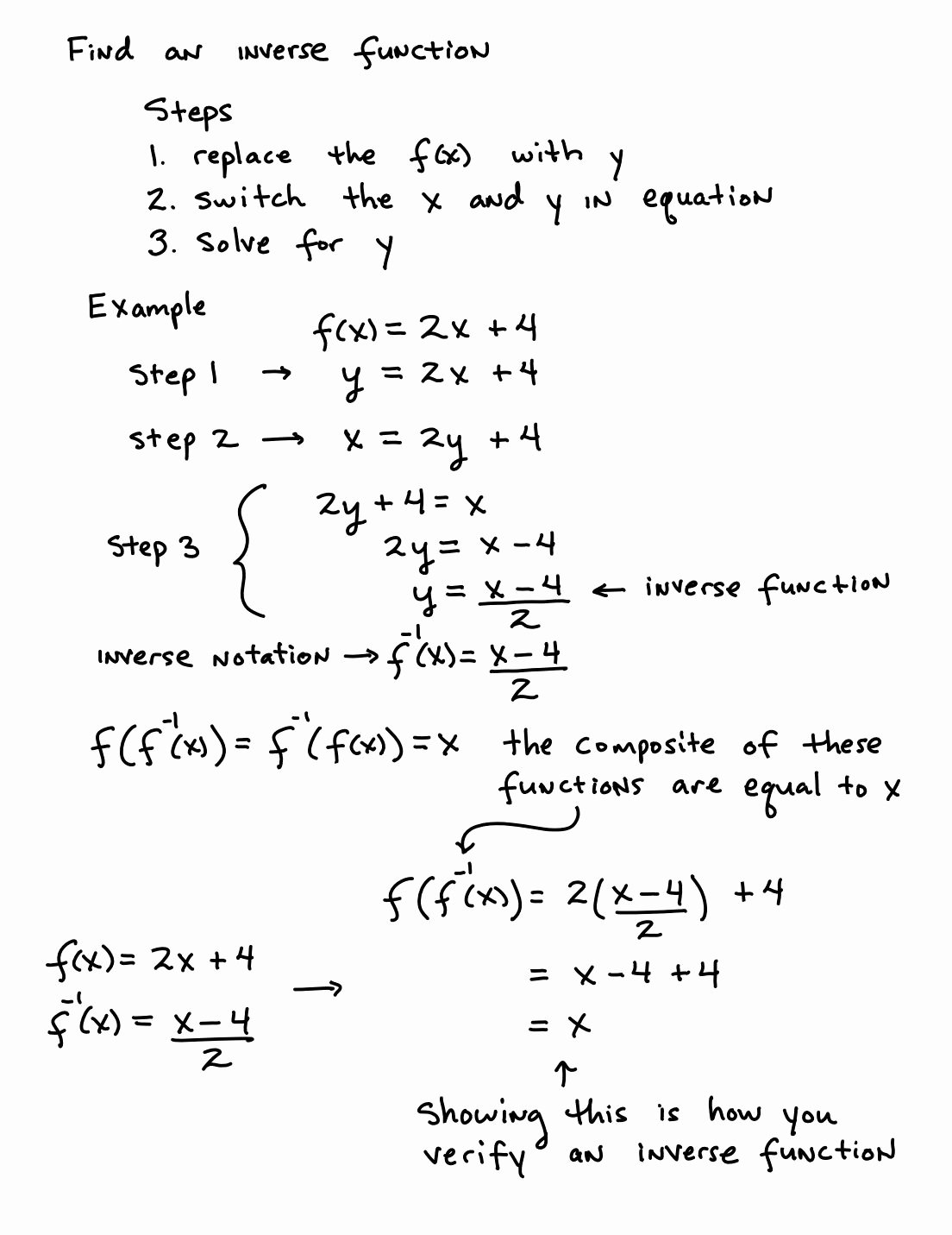 Inverse Functions Worksheet with Answers top Inverse Functions