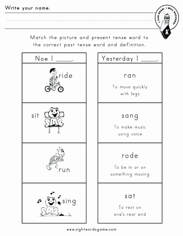 Irregular Verbs Worksheet 2nd Grade Fresh Nouns and Verbs Worksheets 2nd Grade – Dailycrazynews