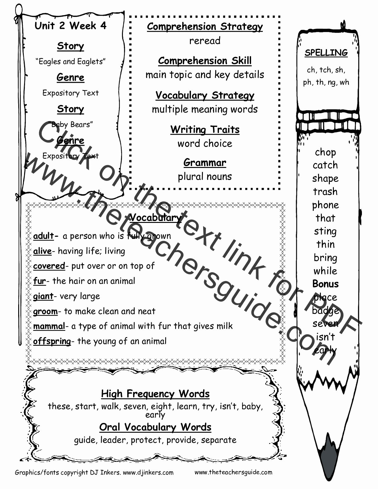 Irregularly Spelled Words 2nd Grade Best Of Wonders Second Grade Unit Two Week Four Printouts