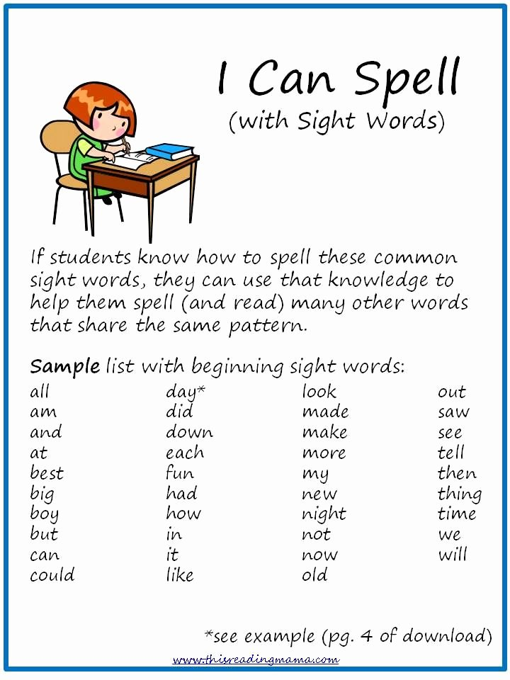 Irregularly Spelled Words 2nd Grade Kids What About Those Irregular Words Sight Words This