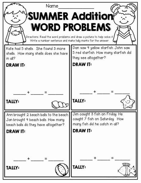 Kindergarten Addition Word Problems Worksheets Ideas Word Problems Kindergarten Worksheets Picture Word Problems