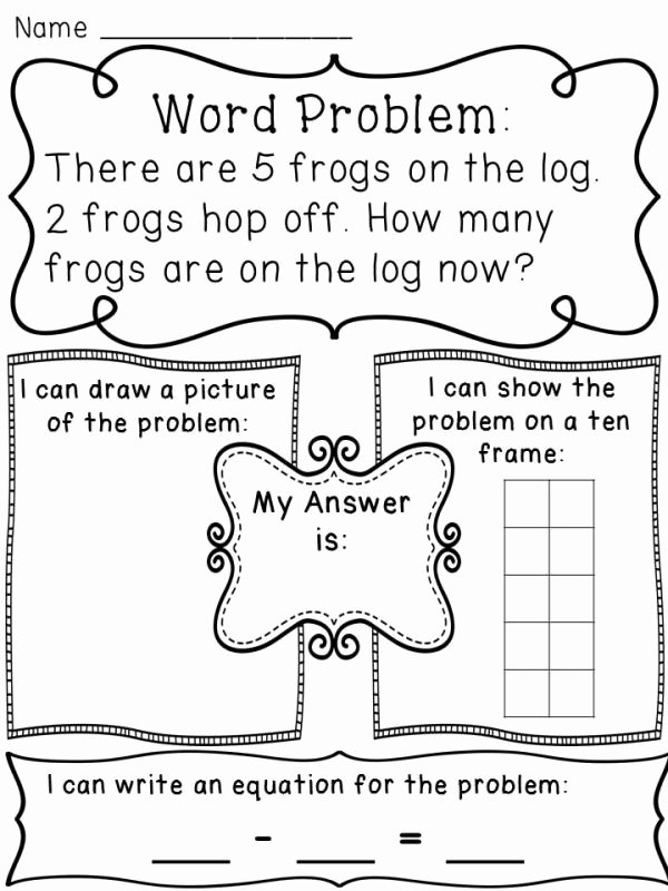 Kindergarten Addition Word Problems Worksheets Printable Pin by Peggy Higginbotham On Kinder Math