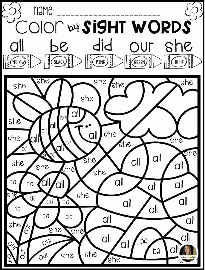 Kindergarten Sight Word Coloring Worksheets Best Of Sight Word Coloring Sheets – Azspring