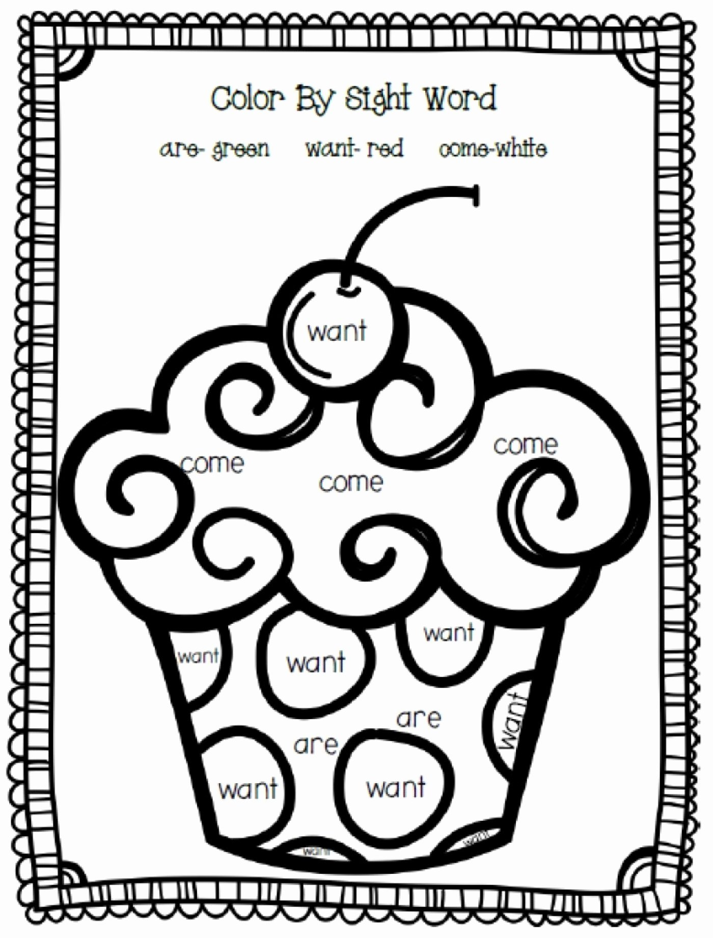 Kindergarten Sight Word Coloring Worksheets Kids Tremendous Free Sight Word Coloring Pages Worksheet High