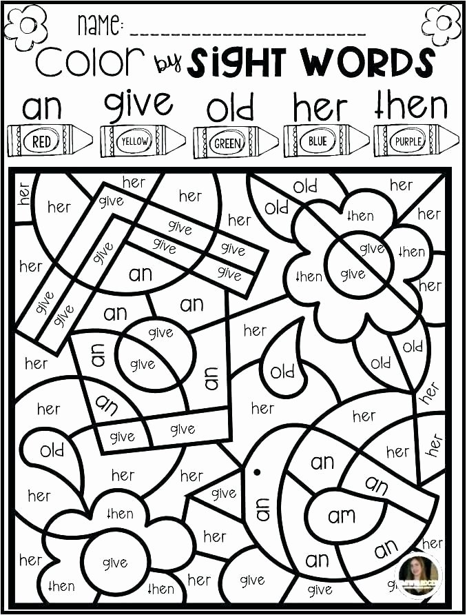 Kindergarten Sight Word Coloring Worksheets Lovely Sight Word Coloring Sheets Sight Word Coloring Pages Grade