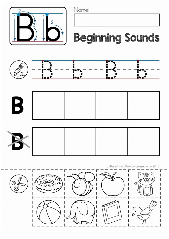 Kindergarten Worksheets Cut and Paste top Preschool Preschoolers Free Pre Cut Paste Activities Letter
