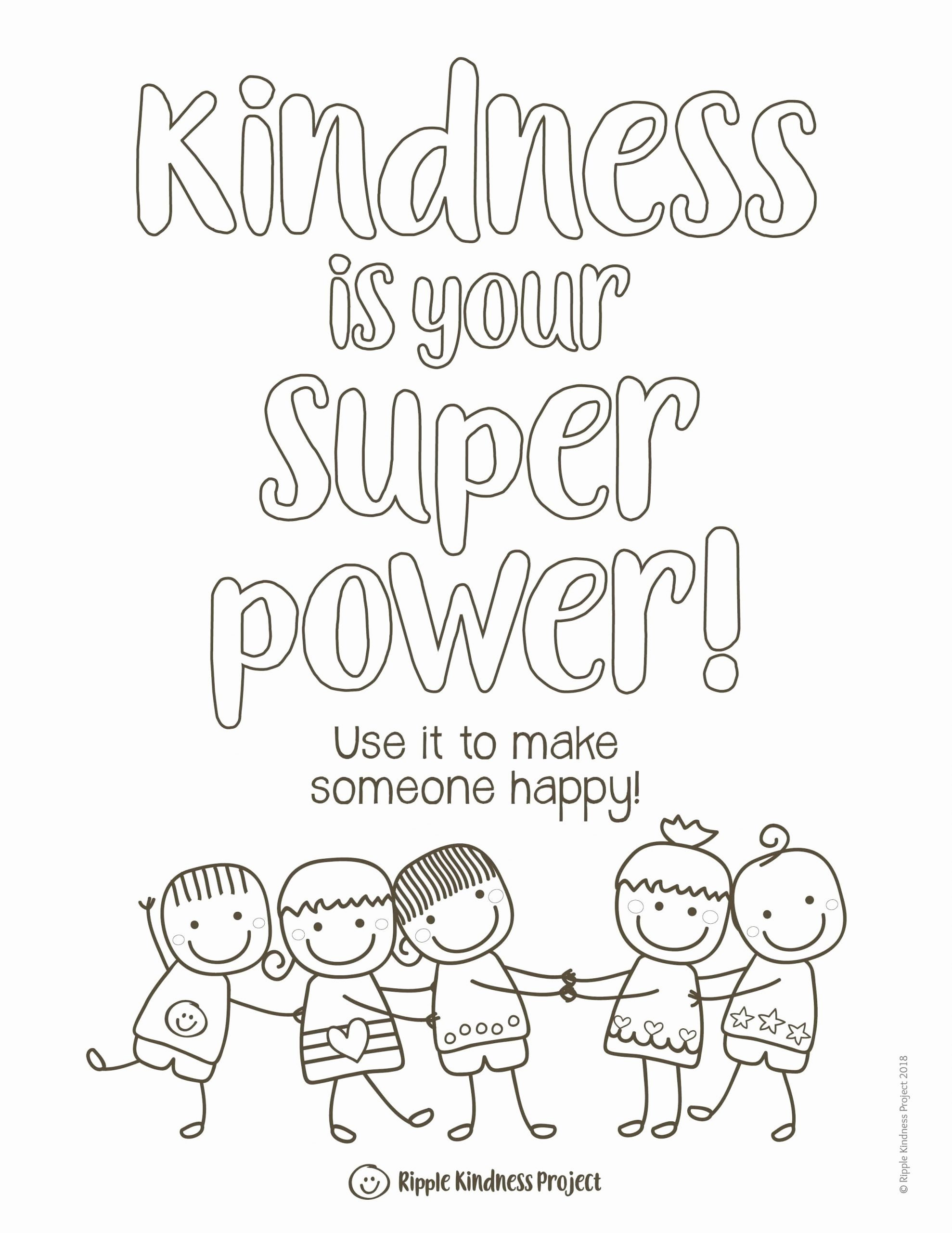 Kindness Worksheets for Elementary Students top Kindness Coloring Pages Kindness Activities Kindness