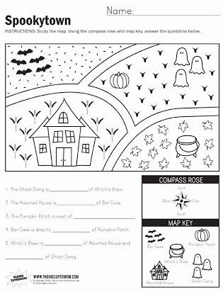Landform Worksheets for 2nd Grade Printable Free Map Skills Worksheets Second Grade