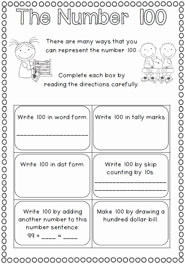 Last Days Of School Worksheets Best Of This 40 Page File is Full Of Worksheets for the 100th Day Of