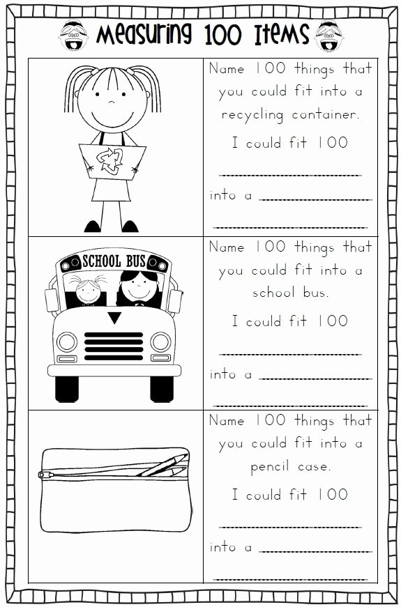 Last Days Of School Worksheets Ideas 100th Day Of School Worksheets 100 Days Of School 40