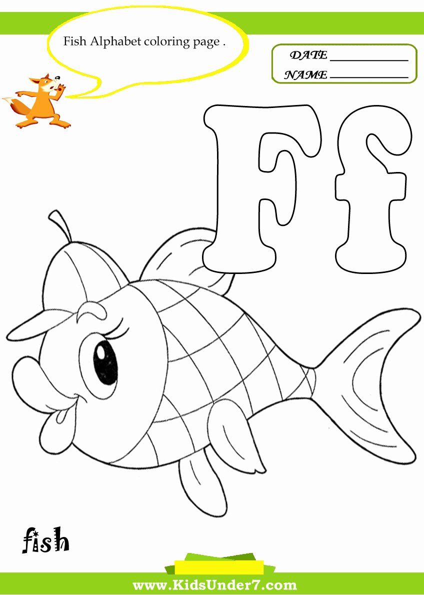 Letter F Worksheets for toddlers top Stunning Letter F Coloring Page Ideas
