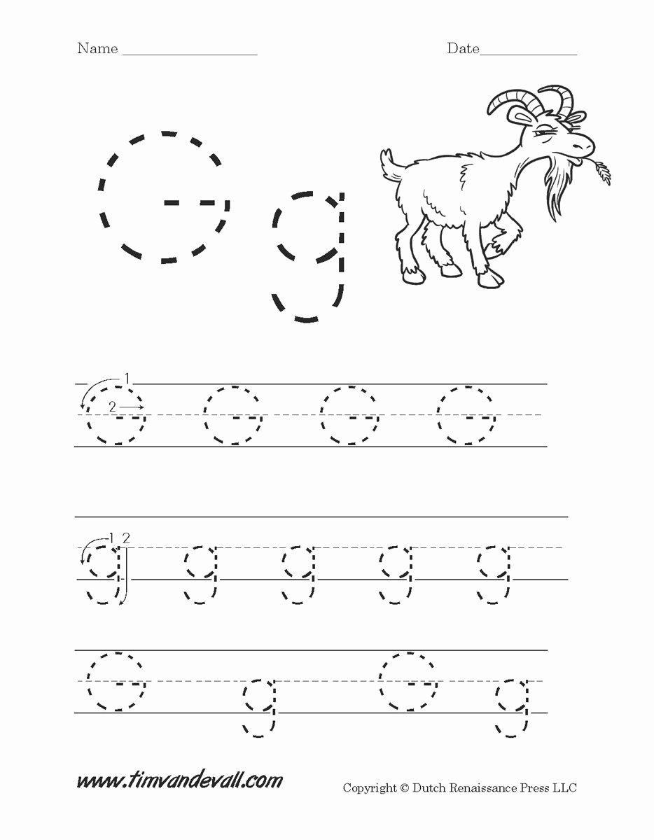 Letter G Tracing Worksheets Preschool top Worksheet Alphabet Activity Sheets Letter G Worksheets