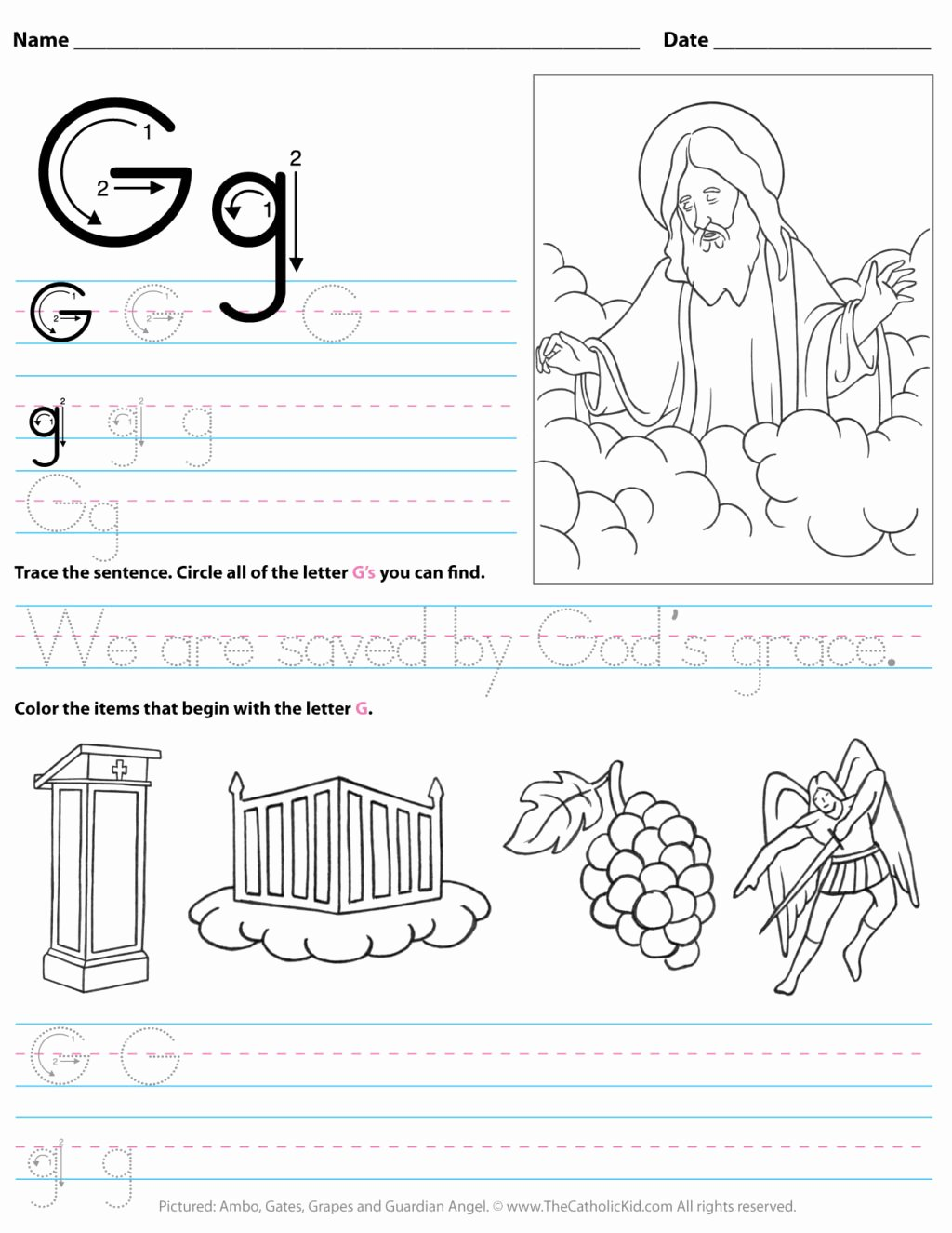 Letter G Worksheets for Kindergarten Fresh Worksheet Staggering I Worksheets for Preschool Worksheet