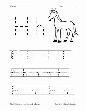 Letter H Worksheets for Preschoolers top Letter H Worksheet Tim S Printables