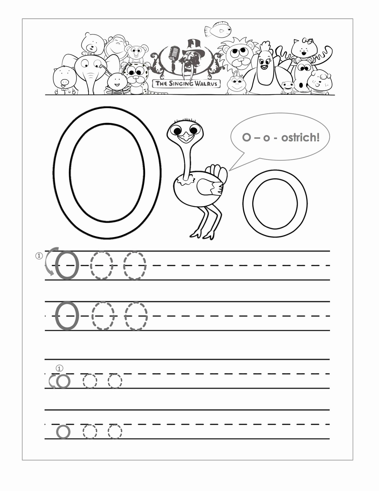 Letter O Worksheet for Kindergarten Ideas Letter O Worksheets for Preschool