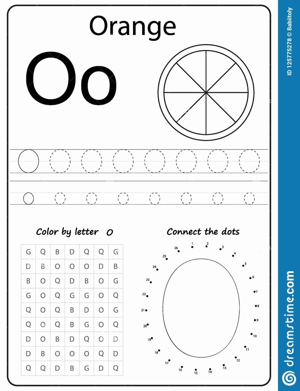 Letter O Worksheet for Kindergarten Inspirational Worksheet Alphabet Letter O Worksheet Task Kids Learning