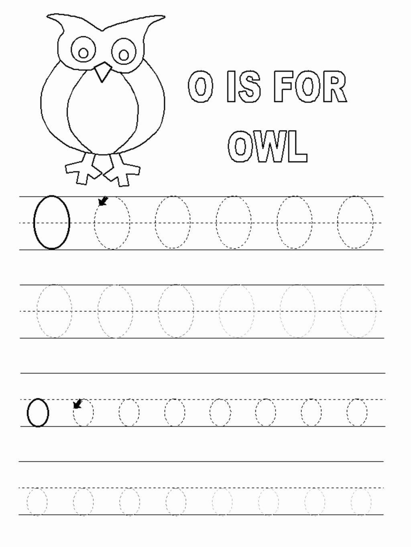 Letter O Worksheets for Preschool Fresh Worksheet Letter O Worksheets forl Alphabet Short