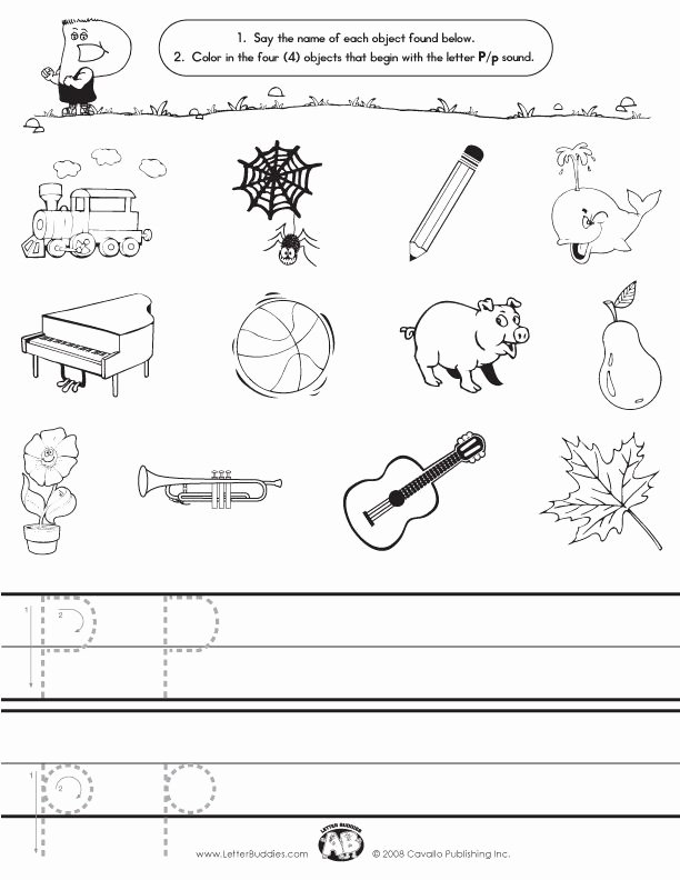Letter P Worksheets for toddlers Inspirational Download Main Page Part 8