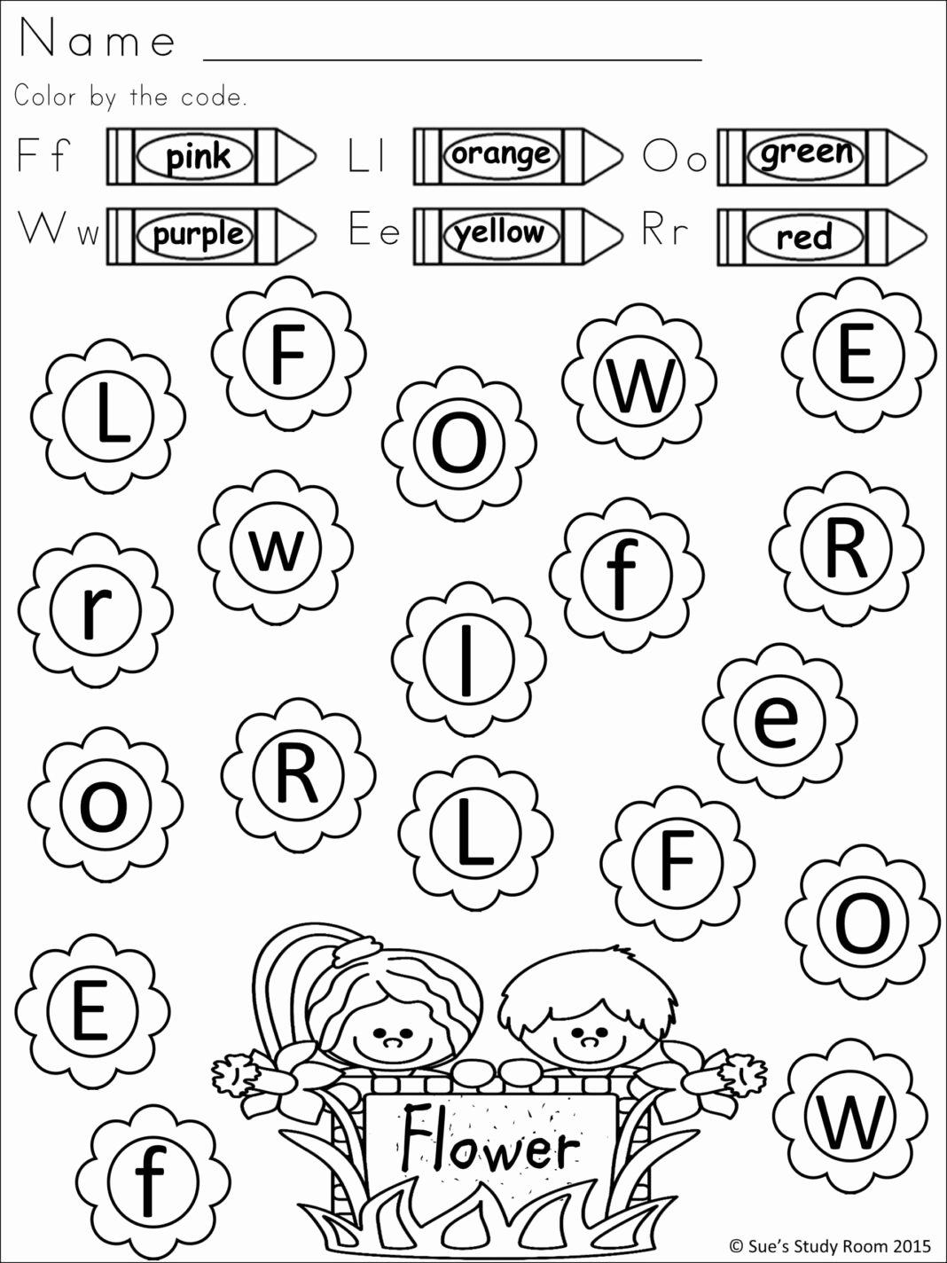 Letter Recognition Worksheets for Kindergarten Free Worksheets Preschool Letter Recognition Worksheets
