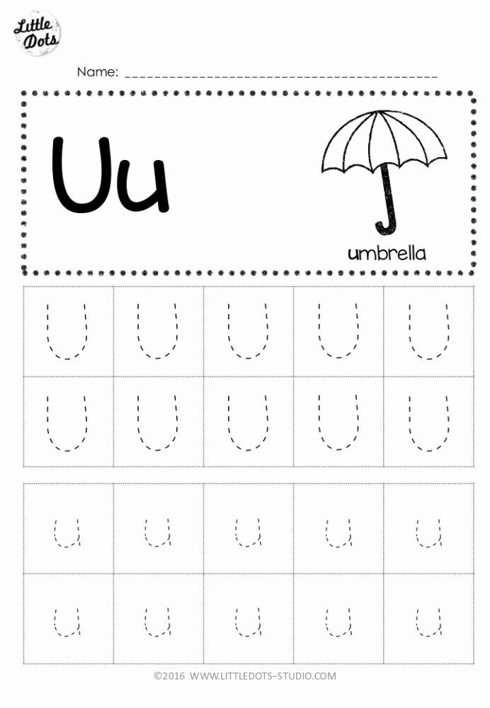 Letter U Worksheets for Kindergarten Lovely Free Letter Tracing Worksheets for Pre Math Addition and