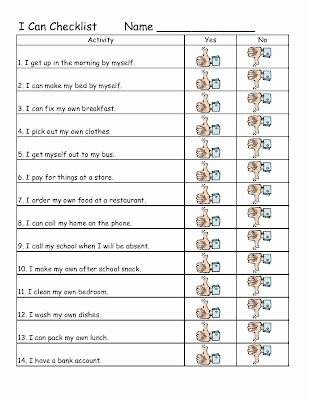 Life Skills Worksheets High School Best Of Empowered by them