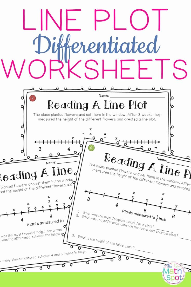 Line Plot Worksheet 5th Grade Inspirational Line Plots Worksheets Distance Learning Packet