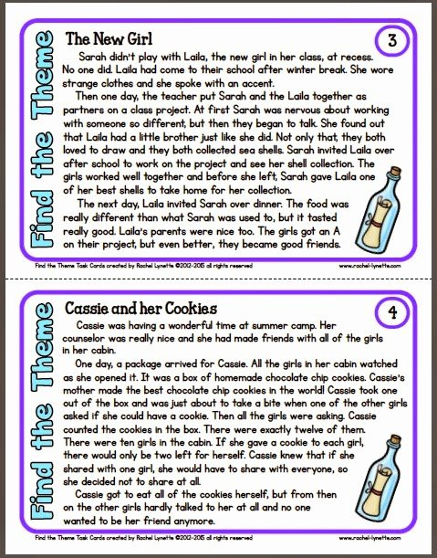 Main Idea and theme Worksheets Fresh Ideas for Teaching theme and A Couple Freebies Minds In