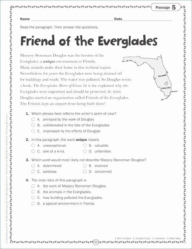 Main Idea Worksheets Third Grade Lovely Main Idea Worksheets Third Grade Third Grade Main Idea and