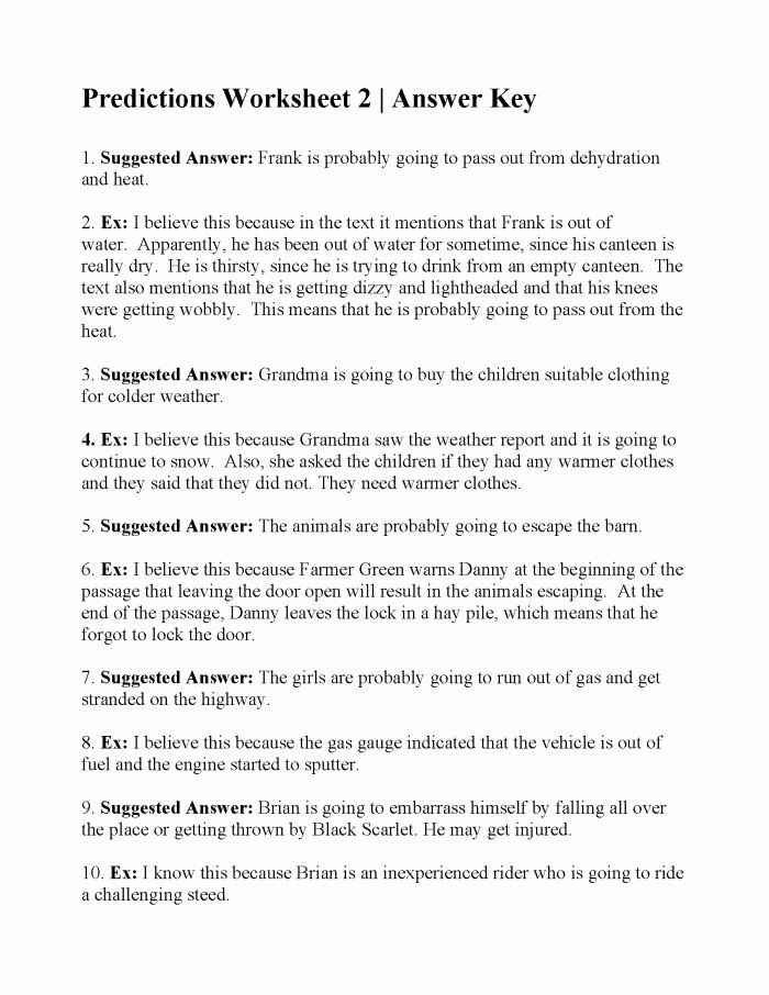 Making Predictions In Reading Worksheets New Making Predictions with Text Evidence Worksheets