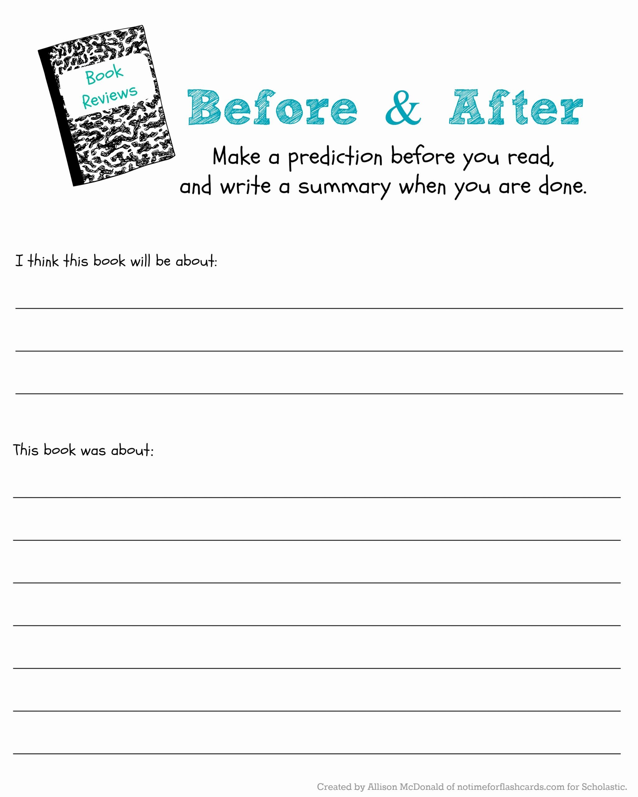 Making Predictions Worksheet 2nd Grade Printable Judge A Book by Its Cover to Predict & Read